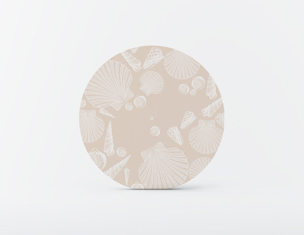 Conch Mozaiko Charger Plates. Set of 4