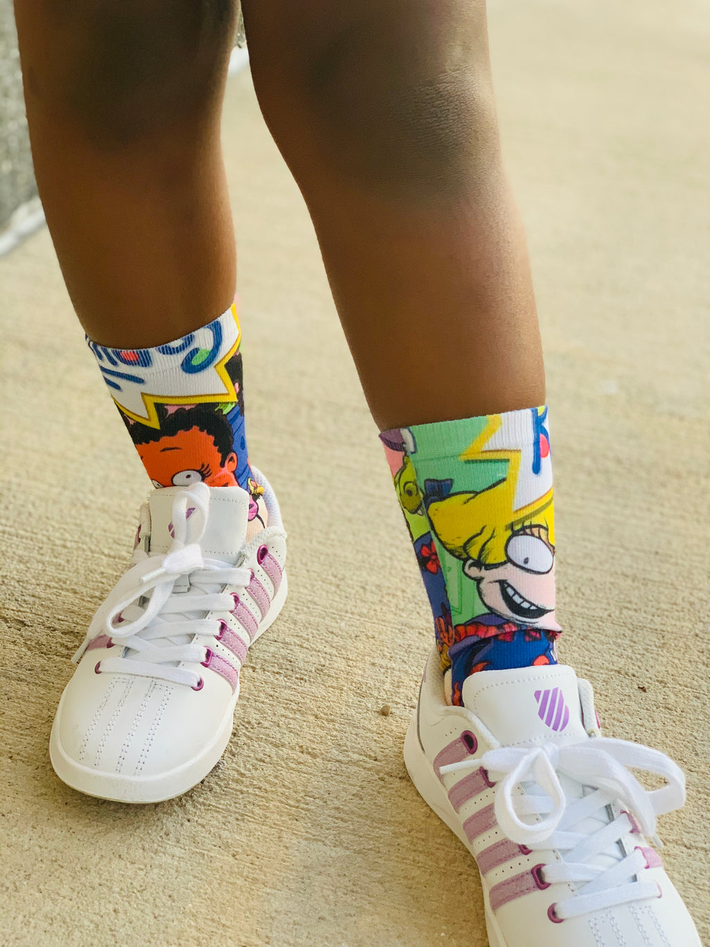 kids socks with Rugrats design cheap girls clothes little boy rugrats clothes rugrats socks