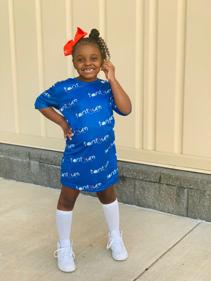 Tantrum All-Over Play Dress Nipsey BlueKid Tantrumz girls clothes sale little girl tantrum all-over clothes