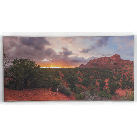 24 x 48 Canvas Print Sunset