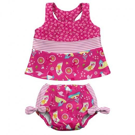 iPlay two-piece tankini swimsuit
