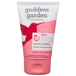 goddess garden baby spray sunscreen