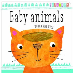 babytown baby animals touch and feel