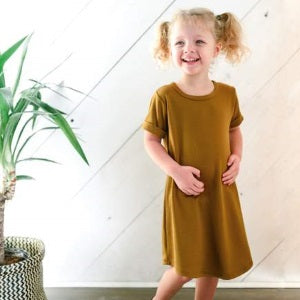 little & lively umber winslow dress (SS19)