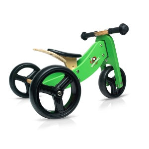kinderfeets tiny tot 2-in-1 chalkboard bike