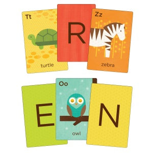 petit collage a-z flash cards
