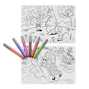 mombella silicone colouring placemat