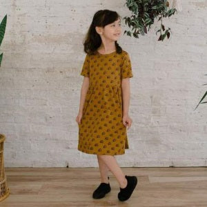 little & lively umber rainbow daphne dress (SS19)