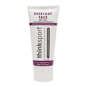 thinksport everyday face SPF 30+ sunscreen