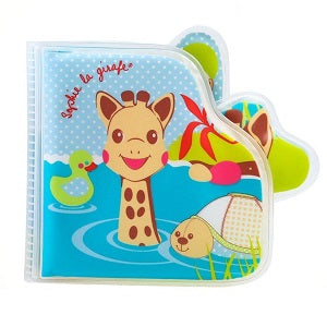 sophie the giraffe bath book