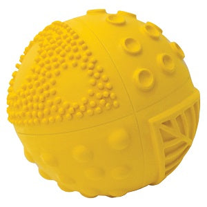 caaocho sensory ball sunshine 3""