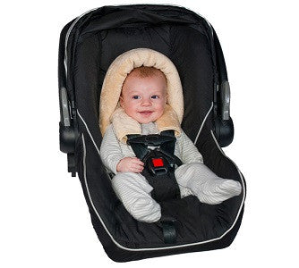 jolly jumper 2in1 infant head hugger - baby on the hip