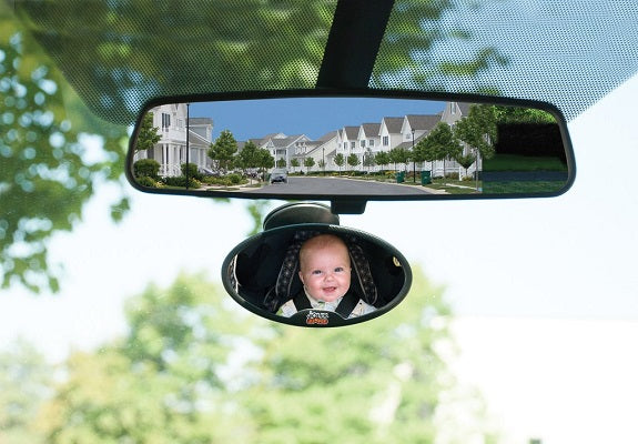 jolly jumper mini driver's baby mirror
