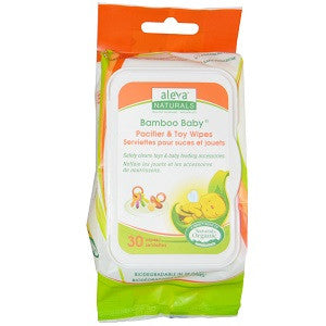 Aleva Naturals Pacifier & Toy Wipes (30pk)