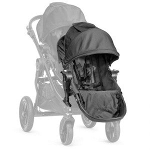 baby jogger city select 2nd seat kit black