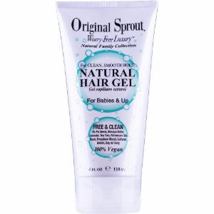 original sprout natural hair gel 4oz