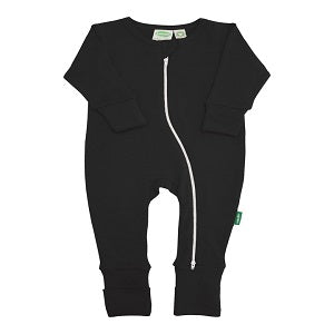 Essential Basic `2-Way` Zipper Romper Solid