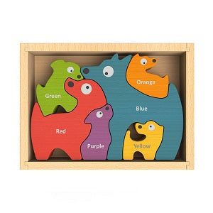 Begin Again Dog Family Puzzle