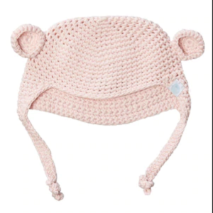 Beba Bean crochet bear hat