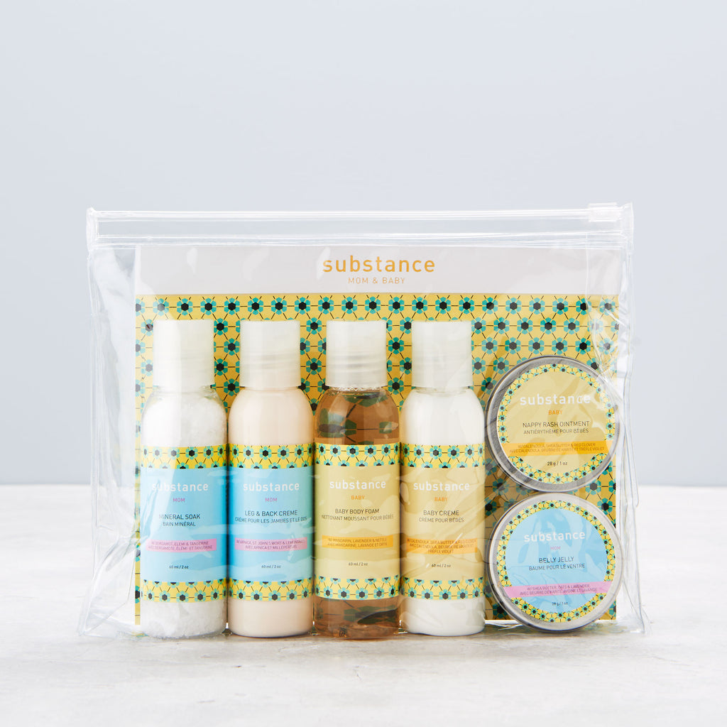 substance mom and baby travel pack