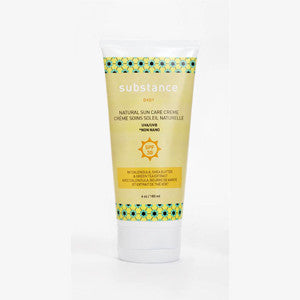 substance baby sun care cream