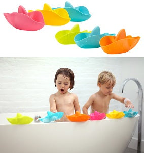 ubbi bath stack and splash toys
