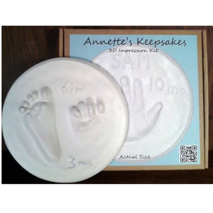 annette's keepsakes small 3D impression kit
