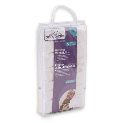 babyworks ultimate washcloths 6 pack