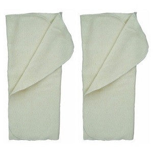 applecheeks bamboo absorbent insert 3-layer (2 pack)