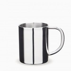 onyx 8oz stainless steel double walled mug