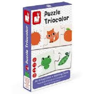 triocolor - 30pc matching game