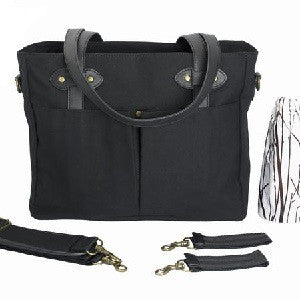 so young emerson tote | black