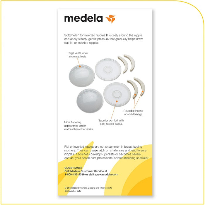 medela softshells for inverted nipples