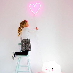 a little lovely company neon heart light