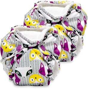 kangacare lil joey 2 pack cloth diaper