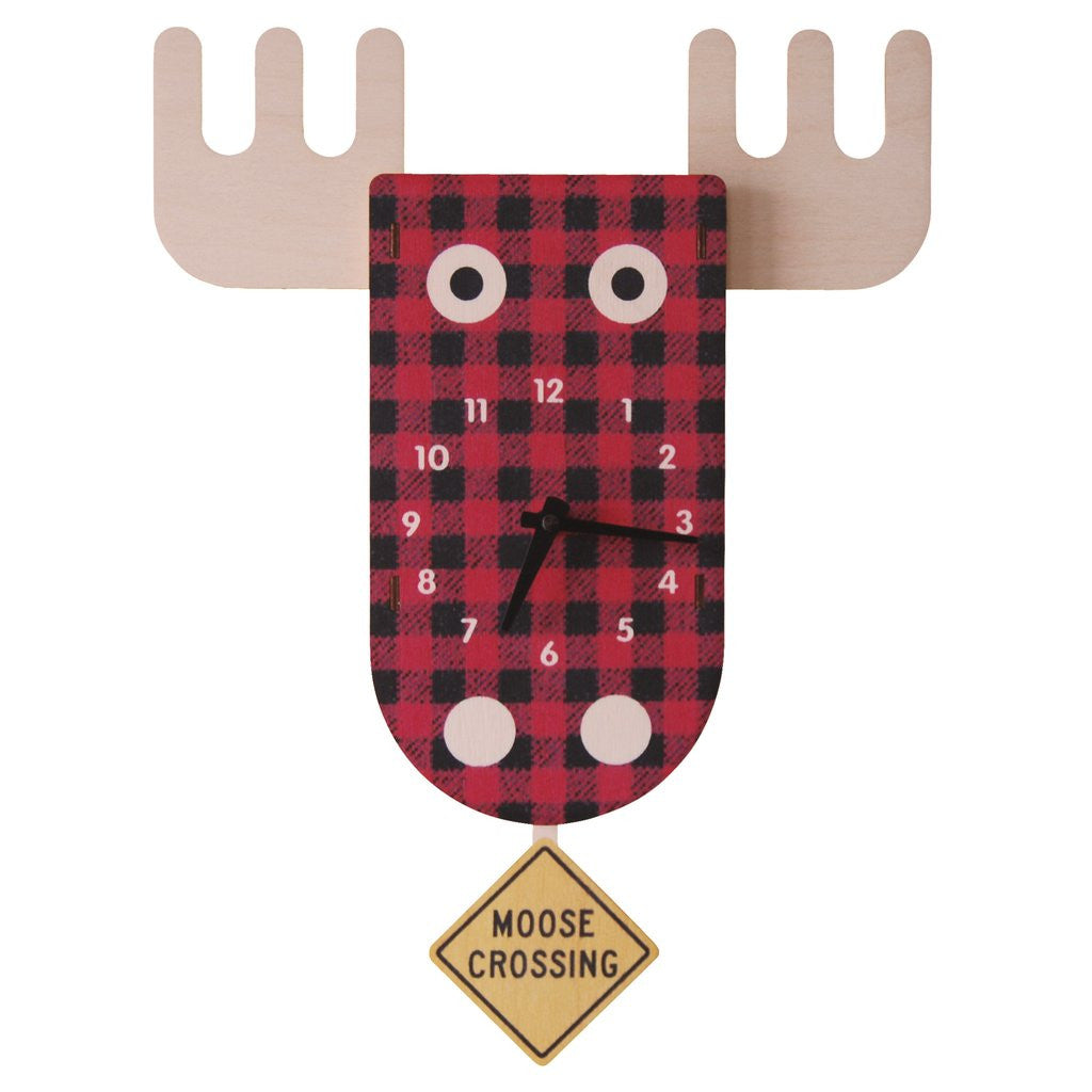 modern moose pendulum clocks