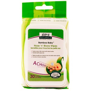 Aleva Nose 'n' Blow Wipes (30pk)