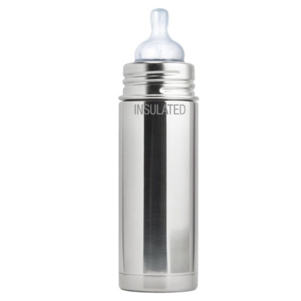 Pura Kiki 9oz Vacuum Insulated Infant Bottle with Sleeve