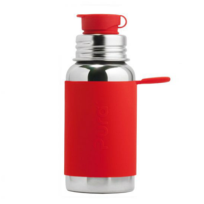pura sport 18oz bottle with sleeve
