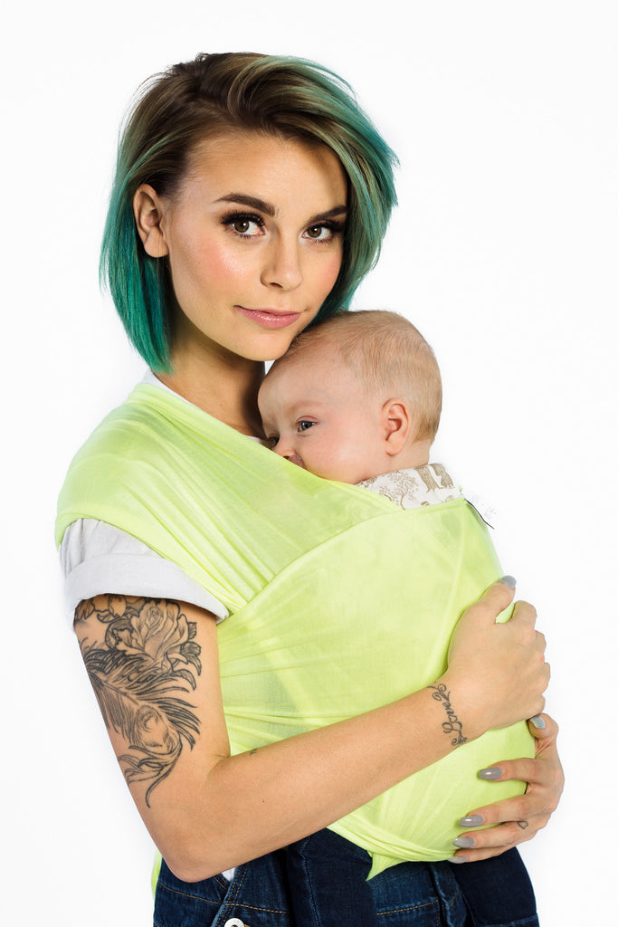 human + mother baby wrap