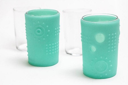 silikids glass cup 6oz (2 pack)