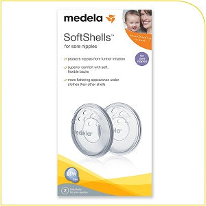 medela soft shells for sore nipple
