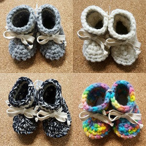 tiny feet booties