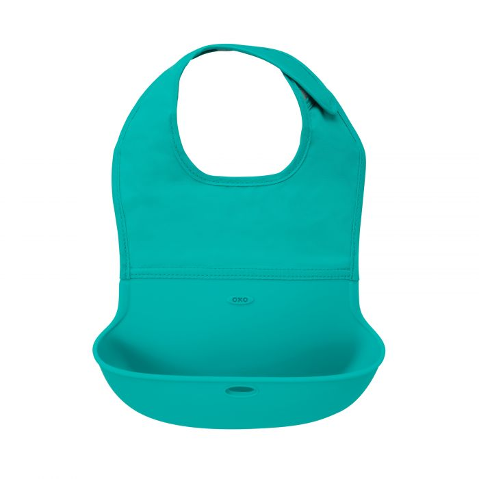 oxo tot silicone roll-up bib