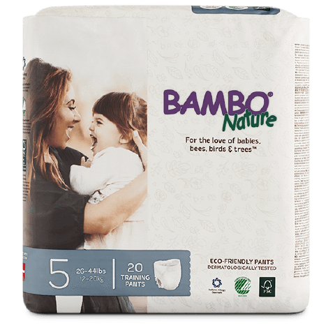 bambo nature biodregradable training pants