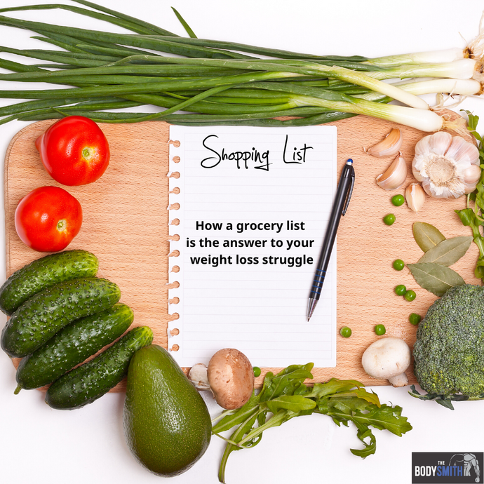 The BodySmith Inc - How a Grocery List is the Answer to Your Weight Loss Struggle