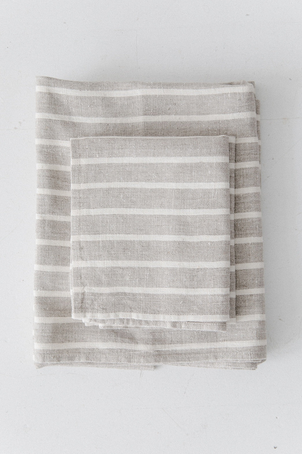 Natural Stripe Bath Towel