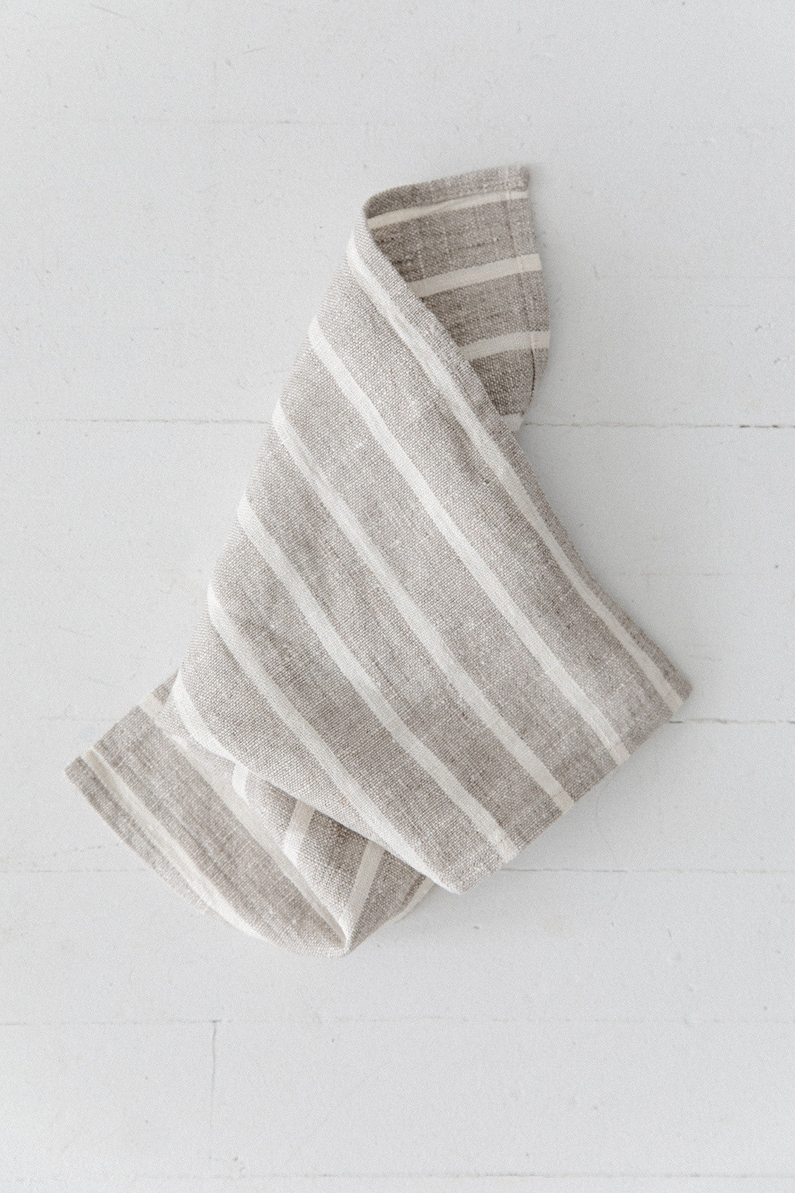 Natural Stripe Cloth [Set of Two]