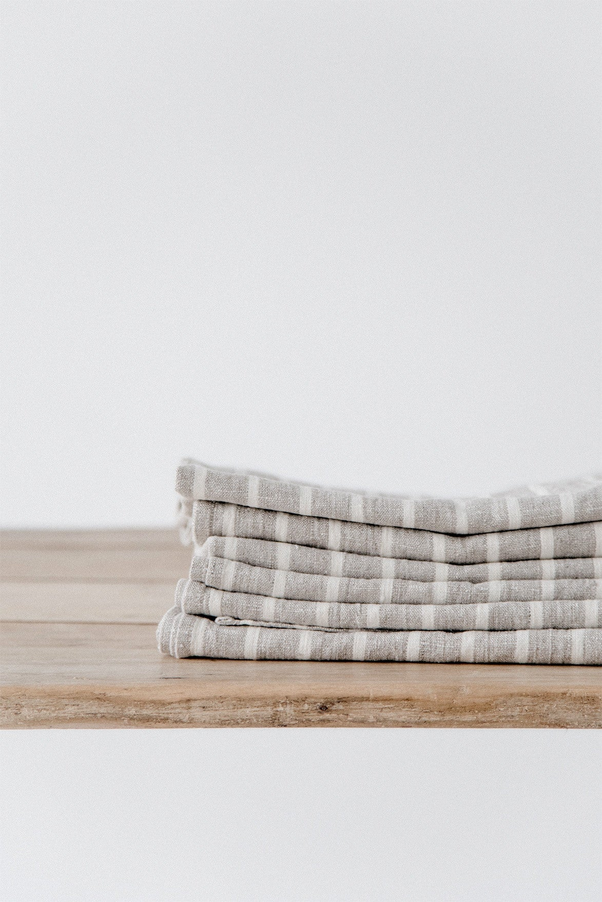 Natural Stripe Towel