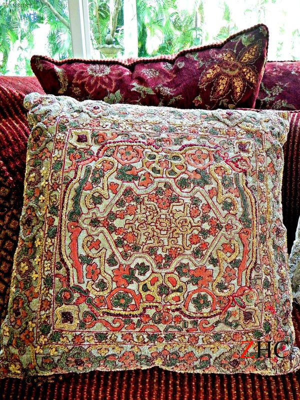 Cushion Gold Multi - shopzambony